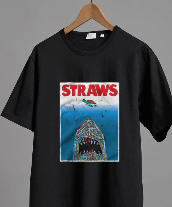 Official Straws Shark Save The Turtles shirt