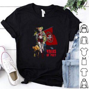 Awesome Harley Quinn Mashup San Francisco 49ers Of Prey shirt