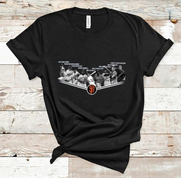 Awesome San Francisco Giants Gaylord Perry Madison Bumgarner Juan Marichal Barry Bonds shirt