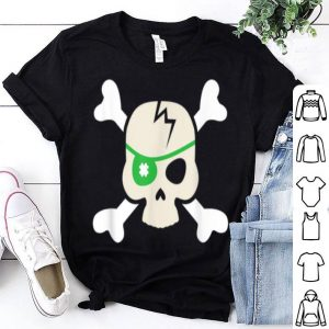 Awesome St Patricks Day Pirate Skull for Boys and Kids shirt