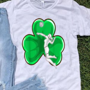 Beautiful St Patricks Day Girls Volleyball Irish Womens Sports shirt