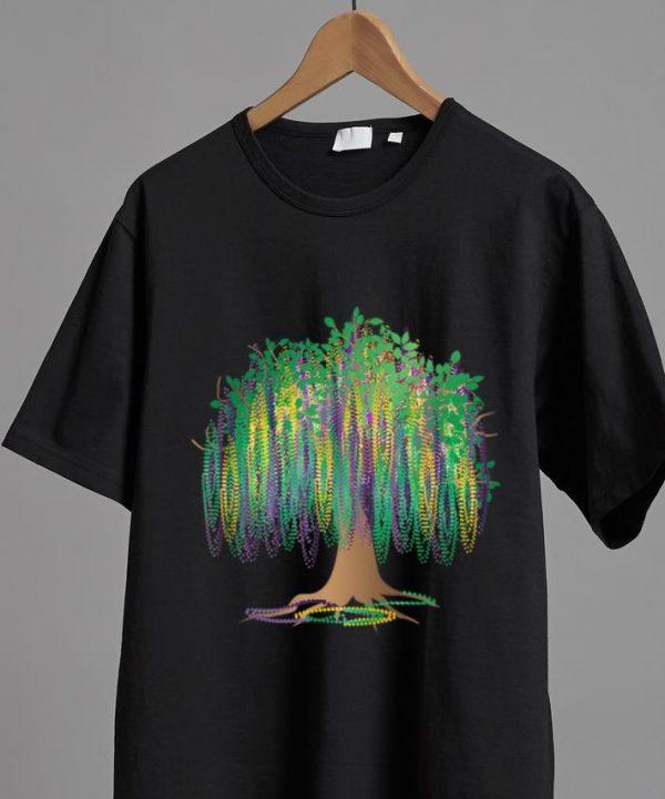 Hot Bead-Tree Bourbon Mardi Gras Carnival Mexican shirt