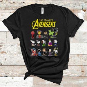 Hot The Peanuts Avengers Characters The Peanuts MCU shirt