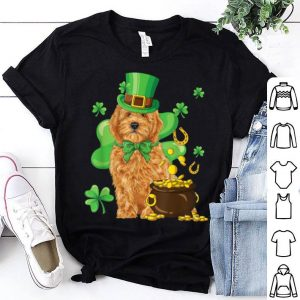 Nice Goldendoodle St Patrick's Day Irish Dog Lover Funny Gifts shirt