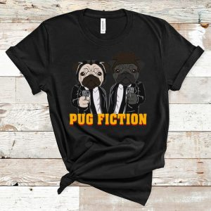 Nice John Wick Pug Fiction shirt