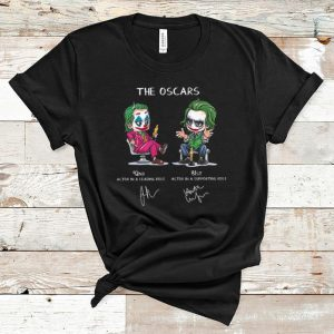 Nice Joker The Oscars 92nd Actor In A Leading Role 81st Actor In A Supporting Role shirt