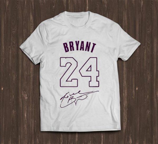 Official 24 Kobe Bryant Signature shirt