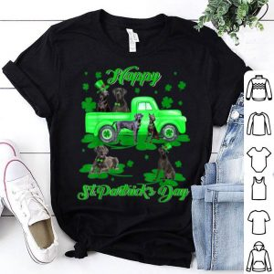 Official Happy St Patrick's Day Leprechaun Great Dane Gifts shirt