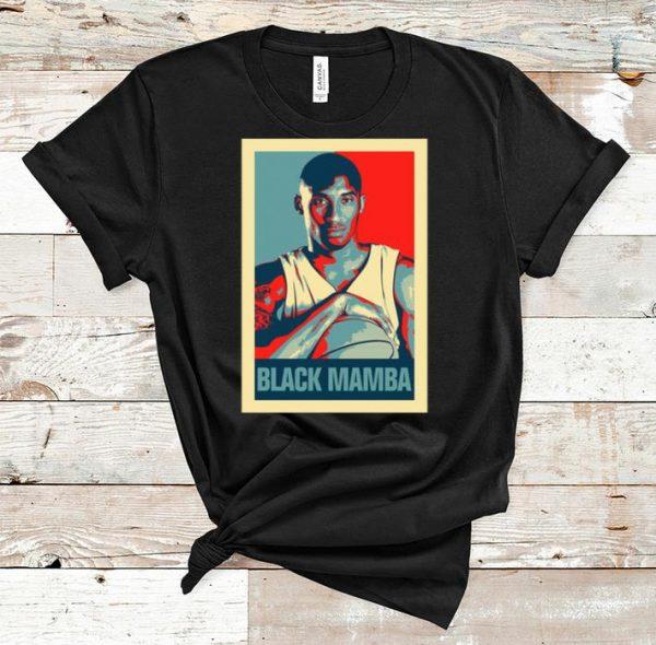 Official Kobe Bryant Obama Hope The Black Mamba shirt