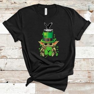 Official Star Wars Baby Yoda American Eagle Outfitters Shamrock St.Patrick's Day shirt