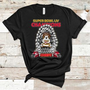 Original Bulldog Iron Throne Super Bowl Champions Kansas City Chiefs shirt