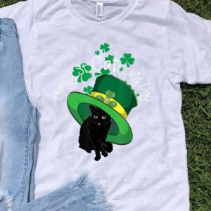 Original St Patrick's Day Funny Cat Happy St Catrick's Day shirt