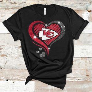 Premium Kansas City Chiefs Super Bowl Champions Heart Diamond shirt