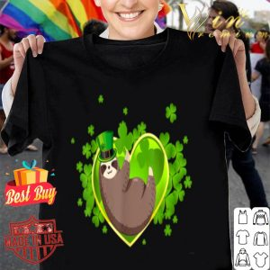 Sloth Leprechaun Sloth Lover St Patricks Day Funny shirt