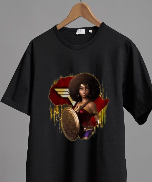Top Black Girl Wonder Woman shirt