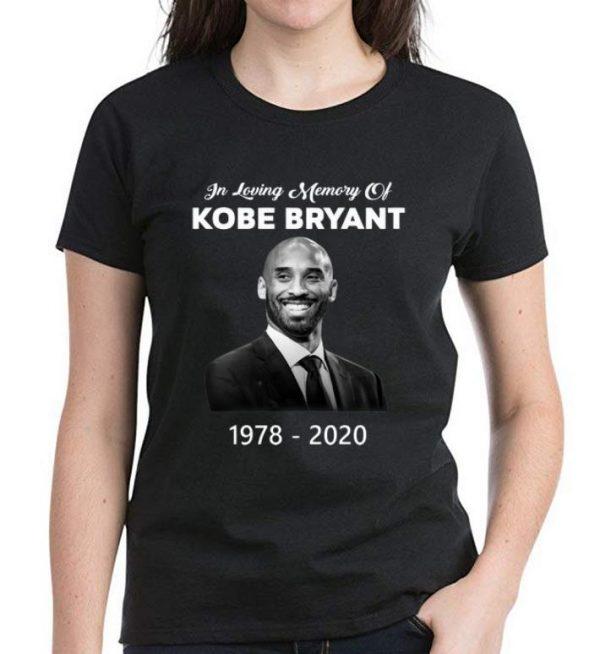 Top In Loving Memory Of Kobe Bryant 1978 – 2020 Rest In Peace shirt