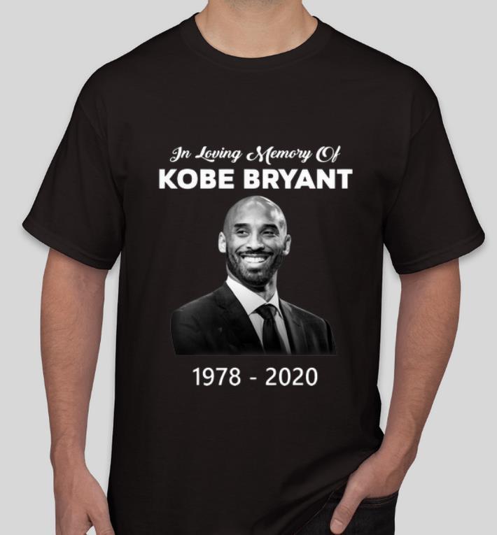 Top In Loving Memory Of Kobe Bryant 1978 2020 Rest In Peace shirt 4 - Top In Loving Memory Of Kobe Bryant 1978 – 2020 Rest In Peace shirt