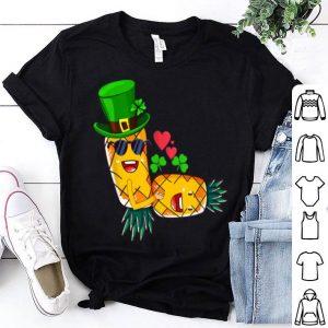 Top Irish Swinger Upside Down Pineapple Having Sex Shamrock Hat shirt