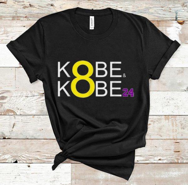Top Kobe & Kobe 8 24 RIP Kobe Bryant shirt