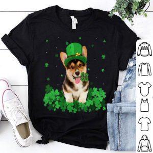 Awesome Irish Shamrock St Patrick's Day Corgi Cool shirt
