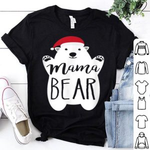 Awesome Mama Christmas Bear Santa Gift Family Matching Pajamas shirt