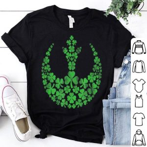Awesome Star Wars Rebel Alliance Green Shamrocks St. Patrick's Day shirt