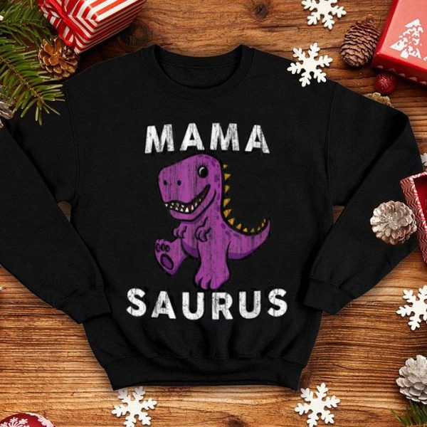 Beautiful Mama Saurus T Rex - Mom Funny Gift For Mothers Day shirt