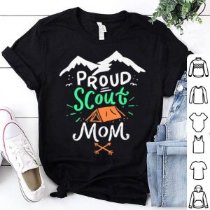 Nice Beautiful Scouting Mother Camping Scout Leader Gift shirt