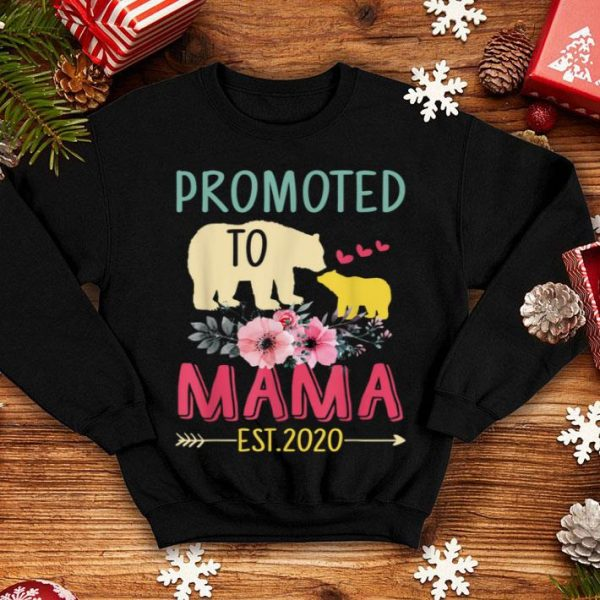 Official Bear Promoted To Mama Est 2020 Mother's Day Gift shirt