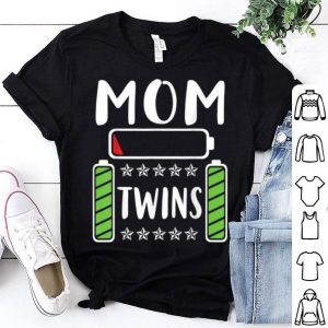 Official Mom Of Twins Son Daughter Happy Mama Mommy Mother Day shirt