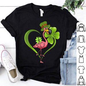 Original Funny Flamingo Shamrock Flamingo St Patrick's Day shirt