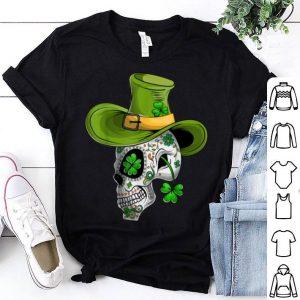 Premium St Patricks Day Mexican Skull Cinco De Mayo shirt