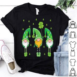 Pretty St Patrick's Day Gnome Lucky Outfit For Men Women Kids shirt