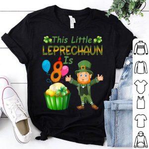 Pretty This Leprechaun Is 8 Year Old Birthday St Patricks Day shirt