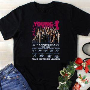 The Young And The Restless 47th Anniversary Thank You For The Memories Signatures