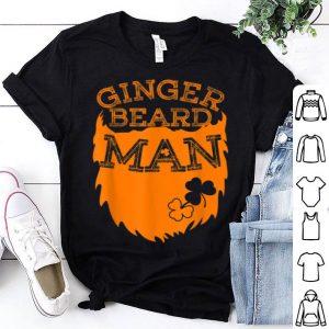 Top Ginger Beard Man Funny St Patricks Day For Men Boys shirt