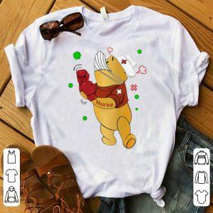 Awesome Winnie-the-Pooh Nurse Boxing Coronavirus shirt