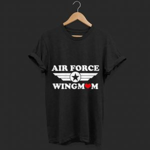 Air Force Wingmom shirt
