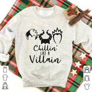 Cruella de Vil Maleficent Evil Queen chillin' like a Villain shirt