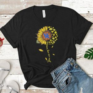 Kentucky Wildcats baseball You are my sunshine sunflower shirt