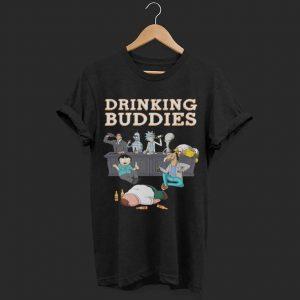 Rick and Morty drinking buddies shirt
