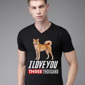 Akita Dog I Love You 3000 shirt