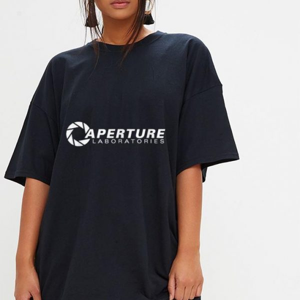 Aperture Laboratories shirt
