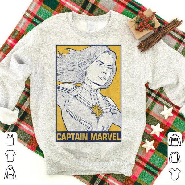 Avengers Endgame Captain Marvel Pop Art shirt