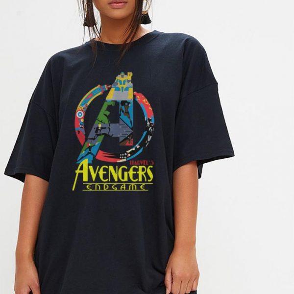 Avengers Endgame logo full colors shirt