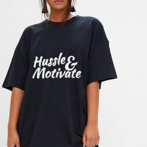Hussle and Motivate Nipsey Hussle Hip Hop Rap shirt 2