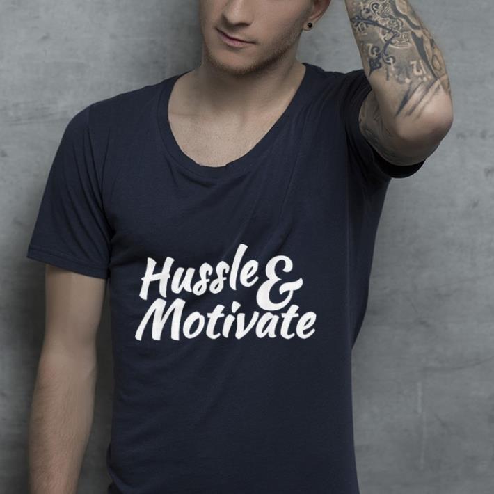 Hussle and Motivate Nipsey Hussle Hip Hop Rap shirt 4 - Hussle and Motivate Nipsey Hussle Hip Hop Rap shirt