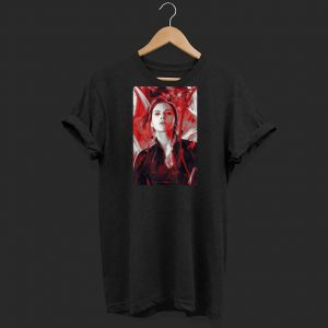 Marvel Avengers Endgame Black Widow shirt