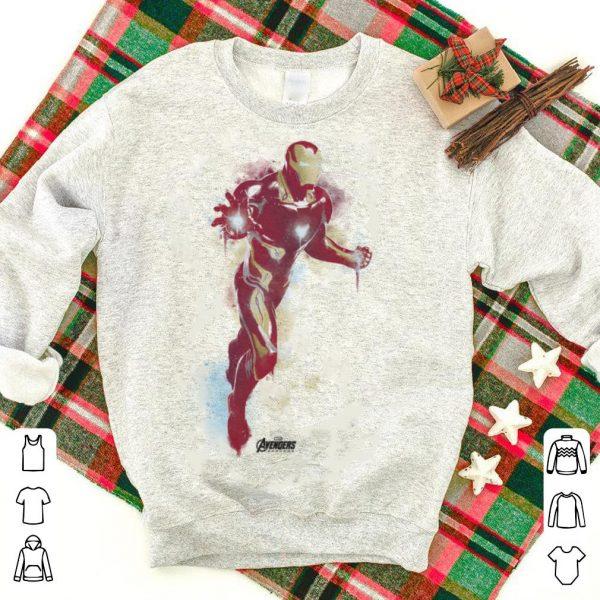 Marvel Avengers Endgame Iron Man Spray Paint shirt