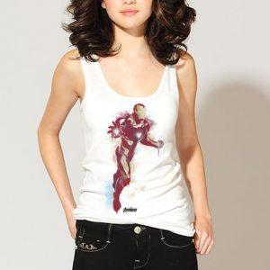 Marvel Avengers Endgame Iron Man Spray Paint shirt 2